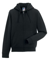 NRG MALE ZIPPED HOODIE WITH EMBROIDERED LOGO